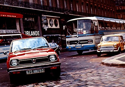 LA CIVIC A 40 ANS  Paris-1972-167affd