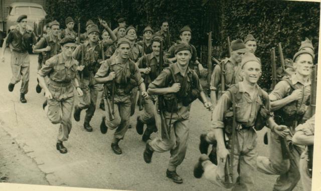 Marche-les Dames en 1950: Speed marche Albert031-123bc22