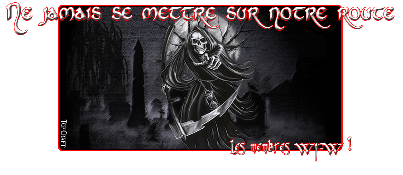 Forum du royaume World Of Fantasy Warrior Index du Forum