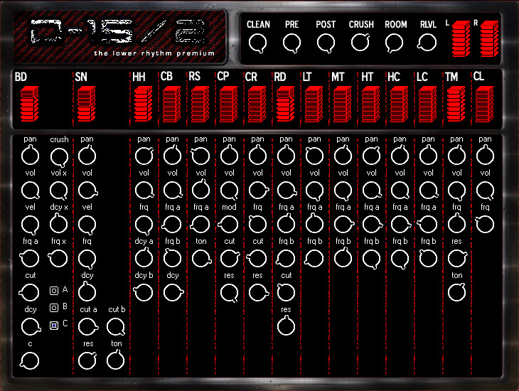 The Lower Rhythm D15 2 Analog Drum Machine VSTi 1.0 magesy.pro