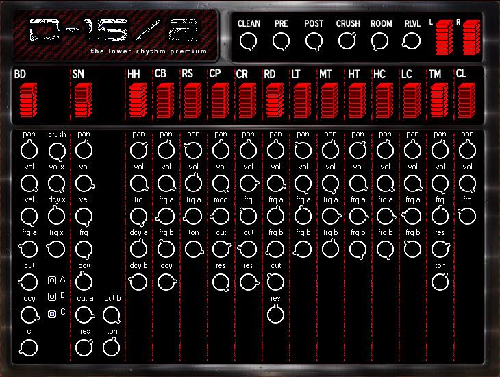 The Lower Rhythm D15 2 Analog Drum Machine VSTi 1.0, vsti the lower rhythm vsti, VSTi, The Lower Rhythm