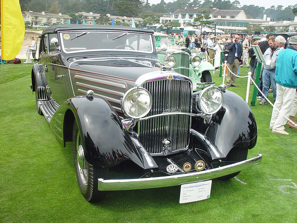 1934 Maybach DS8 Zeppelin