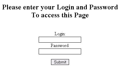 PHP Web Page Pass Protect