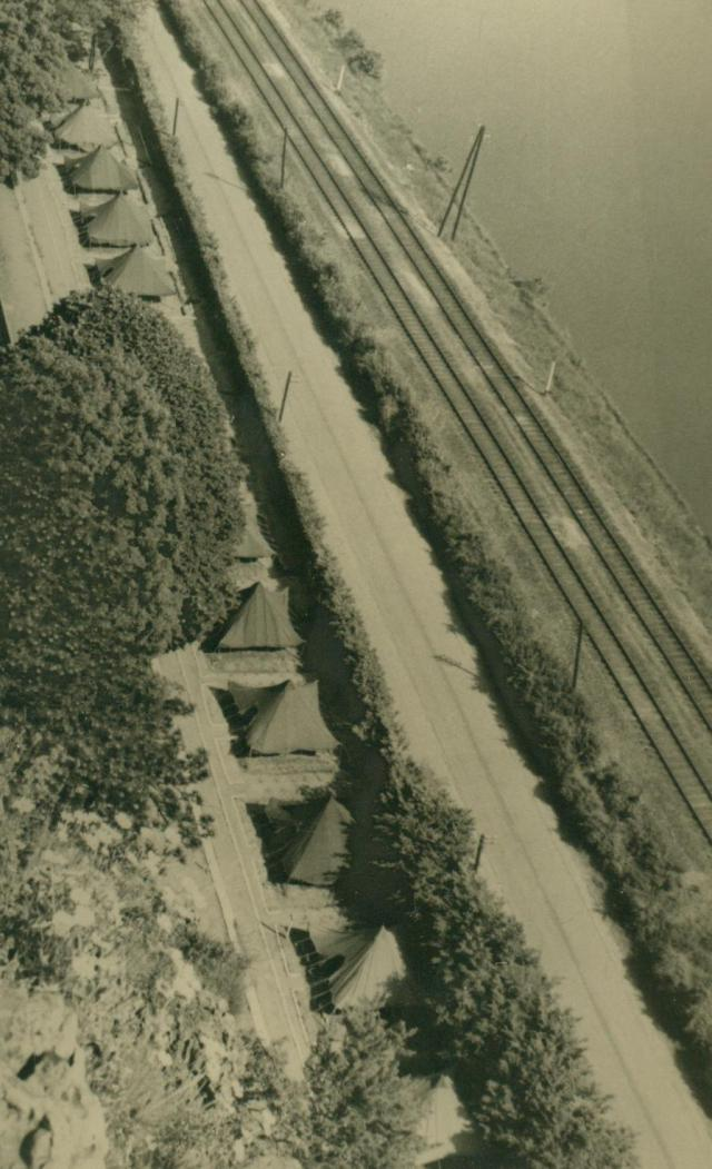 Marcheles-Dames en 1950, cantonnement. Albert080-125034c